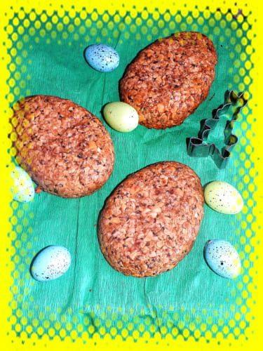 Müsli velikonoční vajíčka