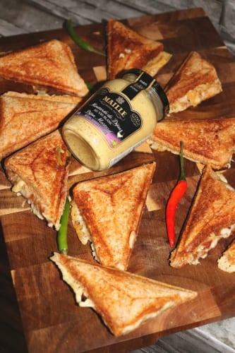 Toasty s dijonskou hořčicí