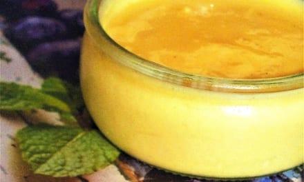 Vanilkový puding z mléka a vajíček