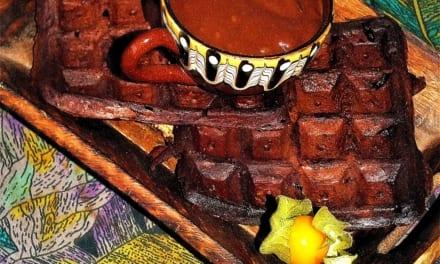Čokoládové vafle (vegan)
