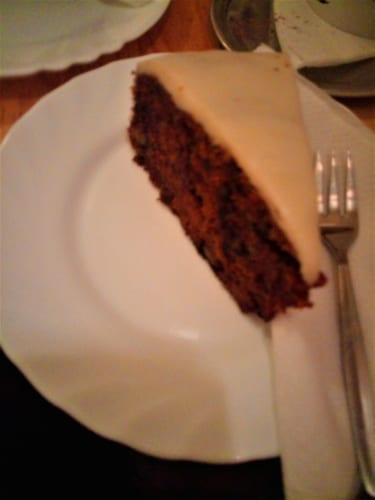 Mrkvový dort (vegan)