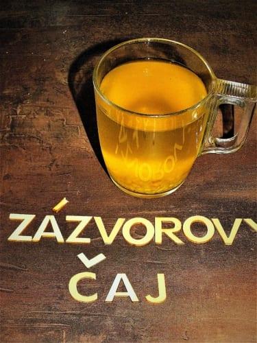 Instantní čaj ze sušeného zázvoru