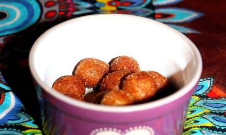 Arašídové kuličky s arašídovým máslem