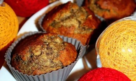 Banánové muffiny s tsampou