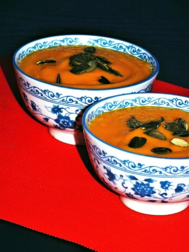 Dýňová polévka (bez laktózy i lepku)