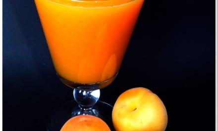 Meruňkový džus s pomerančem