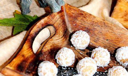 Kokosové kuličky z tsampy (veganské)