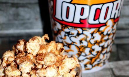 Sladký skořicový popcorn