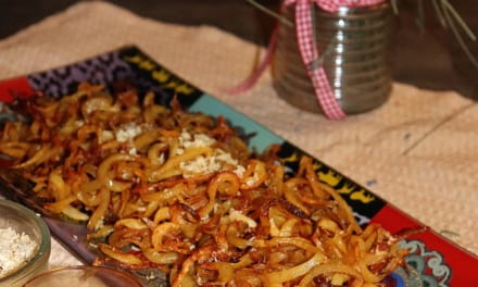 Spiralizované americké brambory