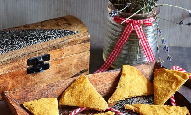 Cizrnové tortilla chipsy