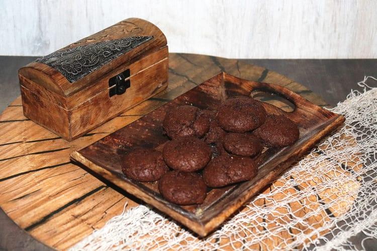 Čokoládové sušenky z tsampy