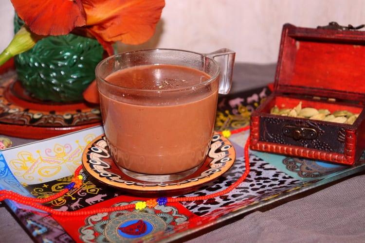 Horká čokoláda s kardamomem