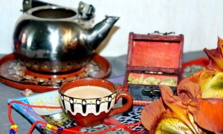Indický čaj s mlékem