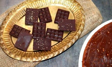 Hořká čokoláda s kampotským pepřem