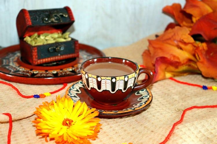 Čokoládový čaj (Indie)