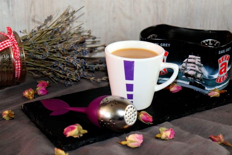 Čaj Earl grey s mlékem (Anglie)