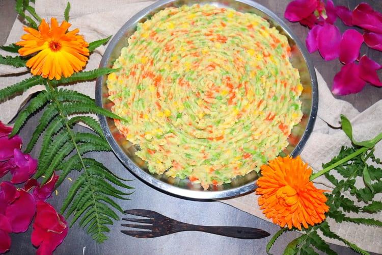 Mukimo – zeleninová kaše (Keňa)