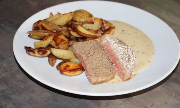 Pepřová omáčka ke steaku (smetanová)