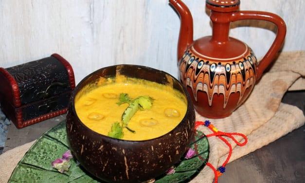 Thajská kukuřičná polévka
