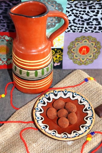 Čokoládové lanýže s tsampou
