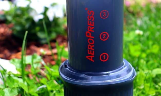 Test cestovního kávovaru Aeropress Go