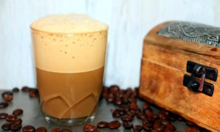 Indické cappuccino