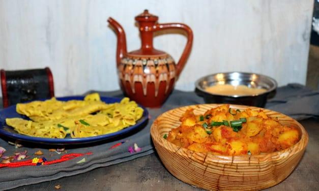 Bombajské brambory (Indie)