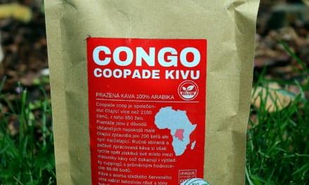 Ochutnávka kávy Congo Coopade kivu