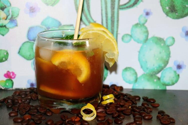 Ledová káva z kávy espresso Romano