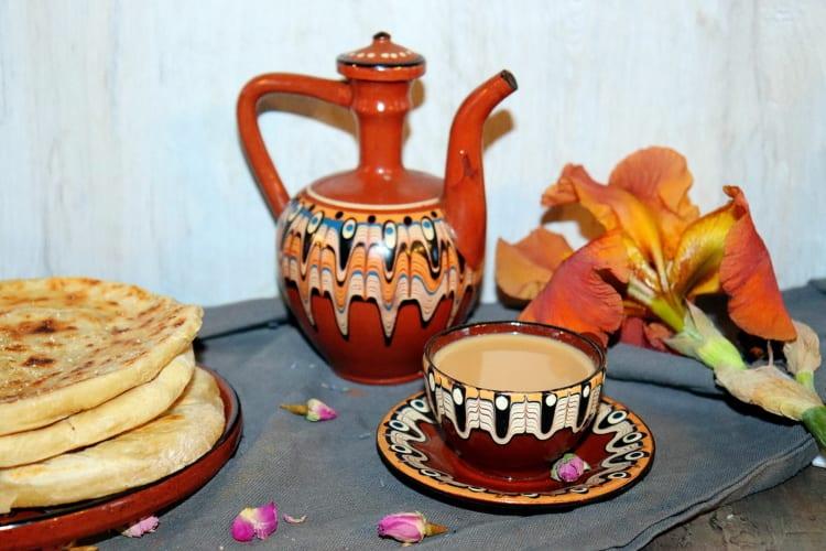 Indický zázvorový čaj