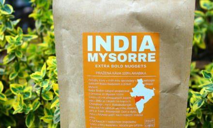 Ochutnávka kávy India Mysorre