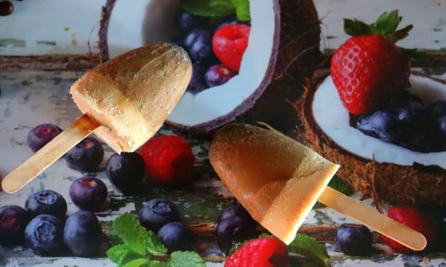 Kokosové nanuky s kávou