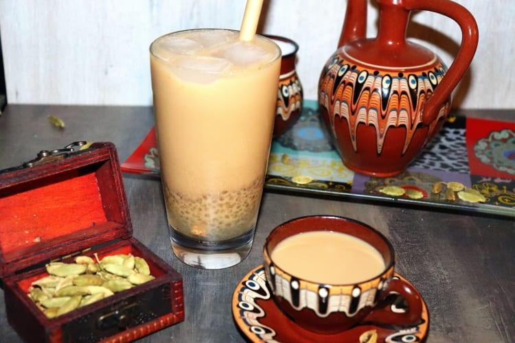 Bubble tea z indického Masala čaje