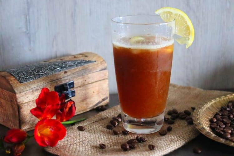 Mazagran (kávová limonáda)