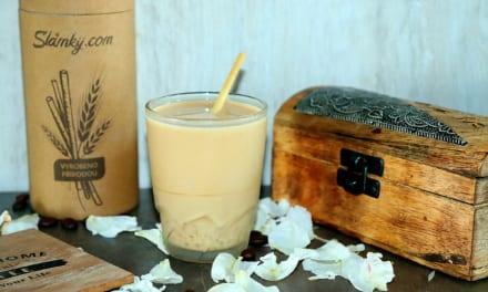 Bubble tea z vietnamské kávy