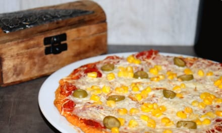 Čočková pizza (bez lepku)