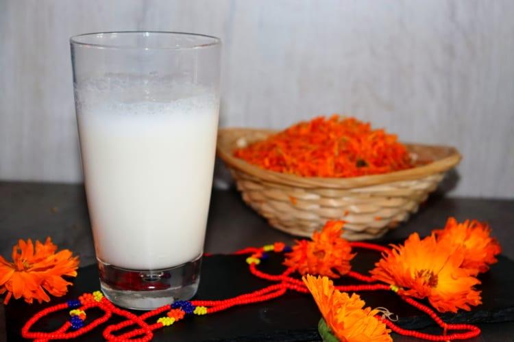 Jogurtové lassí s ovesnou vlákninou