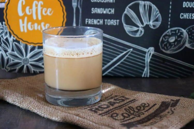 Caffe Latte ze sójového nápoje