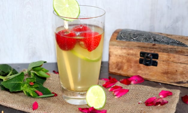 Ledový zelený čaj