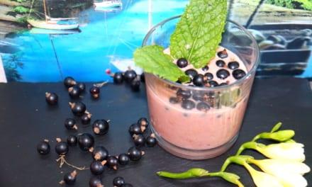 Malinový jogurt s ovesnou vlákninou