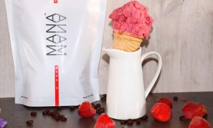 Malinová nice cream s Manou