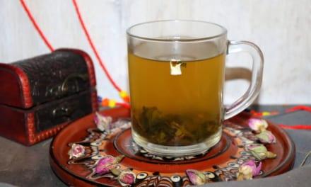 Zelený čaj s ovocem Soursop