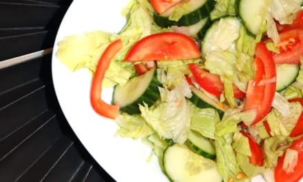 Zahradní salát bez laktózy