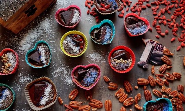 Košíčky s čokoládou (low carb)