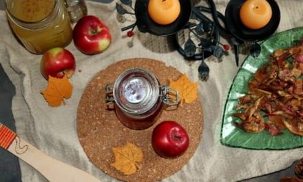 Recepty z jablečných slupek