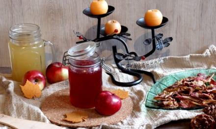 Med z jablečných slupek