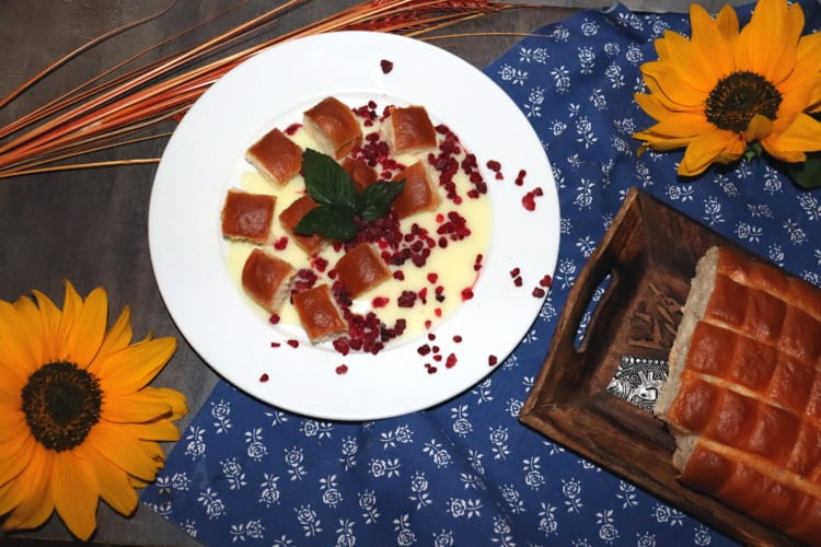 Buchtičky s vanilkovou omáčkou (falešným šodó)