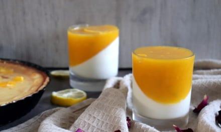 Mango panacotta