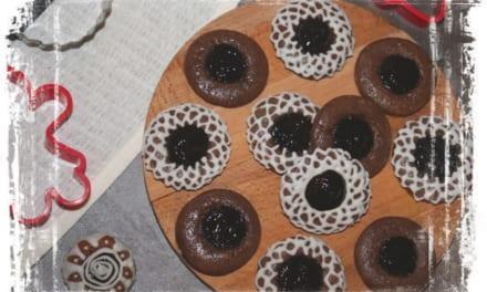 Perníkové koláčky s povidly