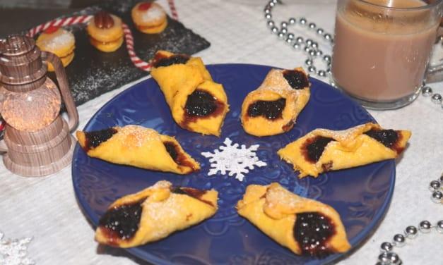 Mrkvové šátečky s povidly (vánoční cukroví)